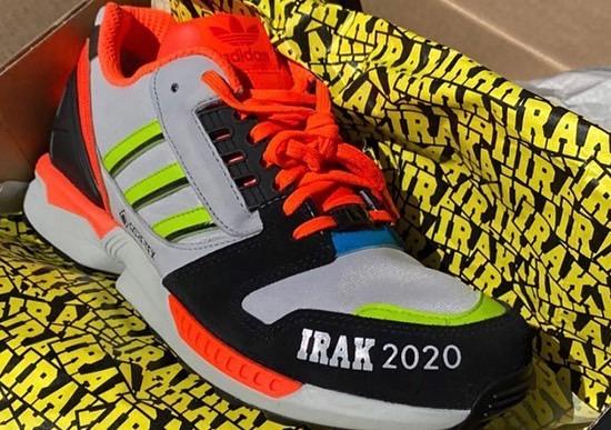 adidas X IRAK ZX 8000