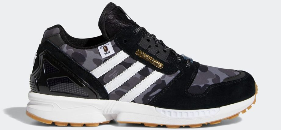 ZX 8000 x BAPE x UNDEFEATED