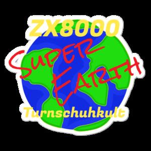 Aufkleber Super Earth