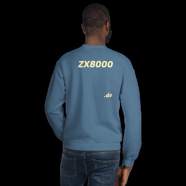 Promo Pullover Indigo blau Ein strapazierfähiger und warmer Pullover, der dich in den kalten Monaten warmh ält. Ein vorgeschrumpfter, klassisch geschnittener Pullover aus luftgesponnenem Garn für ein weiches Tragegefühl.