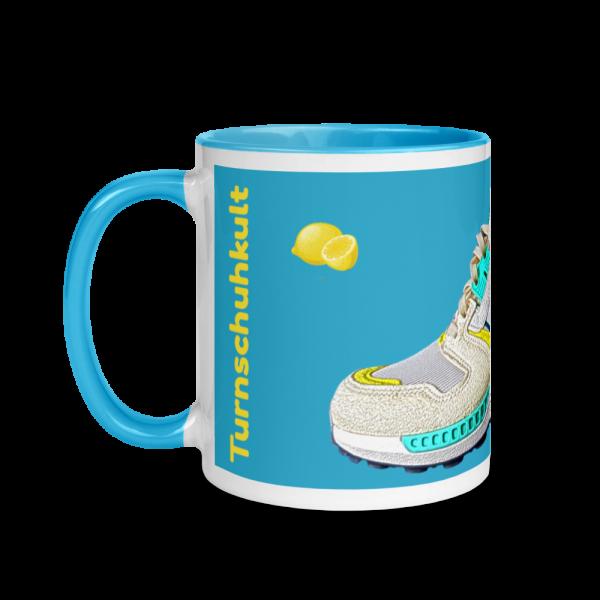 Zitronenbrause Tasse