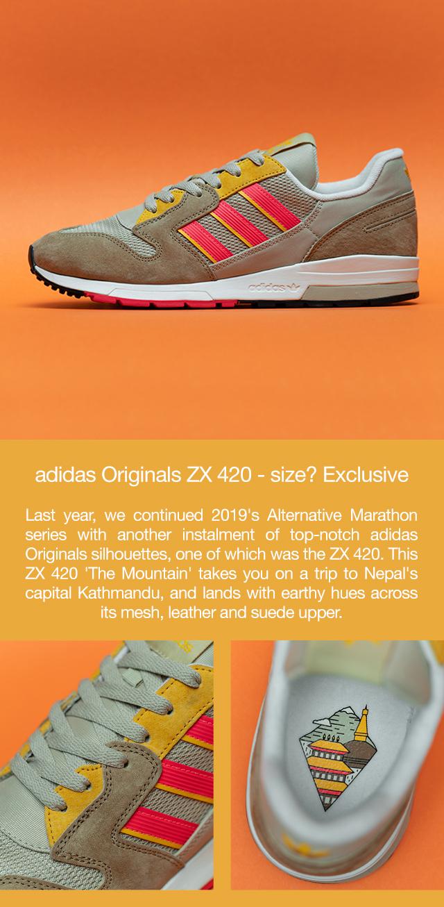 adidas ZX 420 Kathmandu - Size? Exclusive - FZ3058