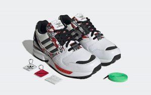 adidas x atmos ZX 8000 Graffiti - GW6028